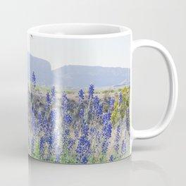 Bluebonnets, Spring in Big Bend National Park Coffee Mug