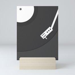 Vinyl Record Mini Art Print