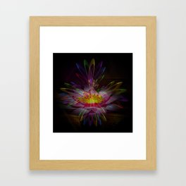 Abstract in perfection 95 Framed Art Print