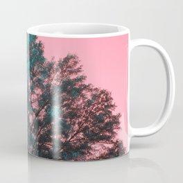 5D Visions : Teal Tree Pink Sky Coffee Mug