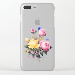 vintage flower bouquet #society6 #decor #buyart Clear iPhone Case