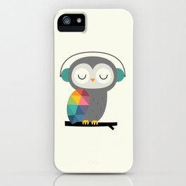 Owl Time iPhone Case