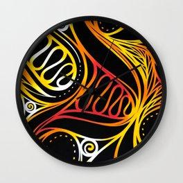 hot waves Wall Clock