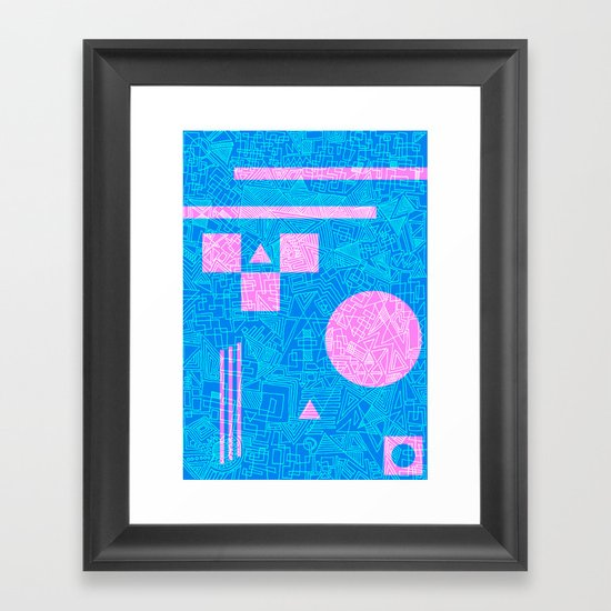 Futurism Framed Art Print