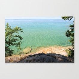 Lake Superior Michigan Canvas Print