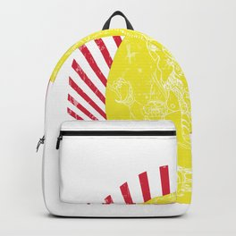 May Lord Ganesh bring you good luck and prosperity Backpack