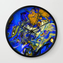 Blue Compliments You Wall Clock