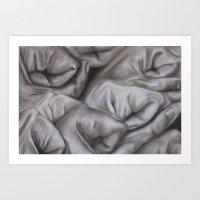 A study of hands Art Print