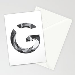 "Tao ""Letter G"" Stationery Cards"