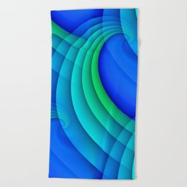 time for abstraction -20- Beach Towel