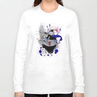 kakashi Long Sleeve T-shirts featuring Kakashi Eye by feimyconcepts05