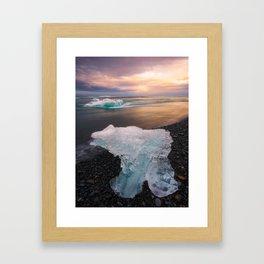 Iceland (RR 196) Framed Art Print