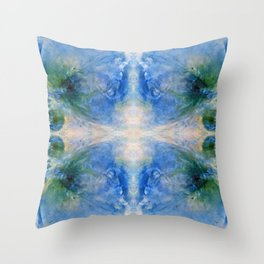 Abstract Trendy Fantasy World Throw Pillow
