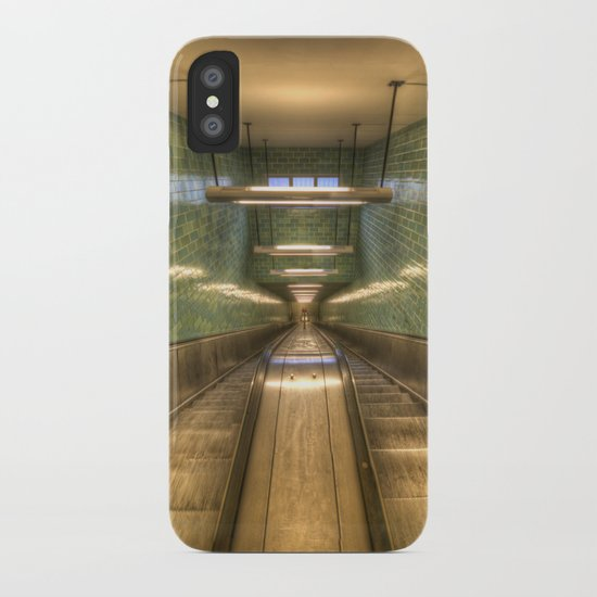 Light going down iPhone Case