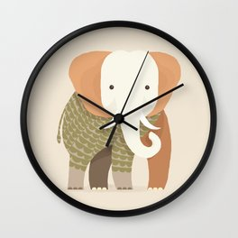 Whimsical Elephant Wall Clock