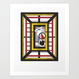 Geo 34 - Abstract Geometric Composition Art Print