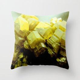 Specimen IV Throw Pillow