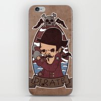 pirate iPhone & iPod Skins featuring Pirate by Jelot Wisang