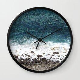 Ocean blue - Madeira Wall Clock