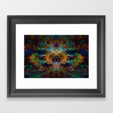Trouble Incognito Framed Art Print