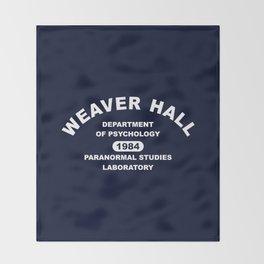 Weaver Hall Throw Blanket