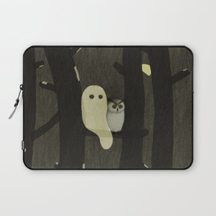 Little Ghost & Owl Laptop Sleeve