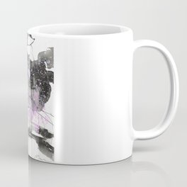 Sumie No.6 weeping willow cherry blossoms Coffee Mug