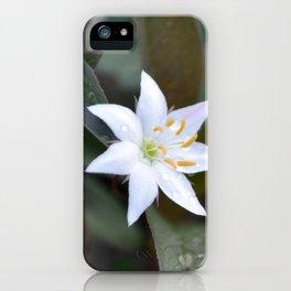 Norwegian Flower iPhone Case