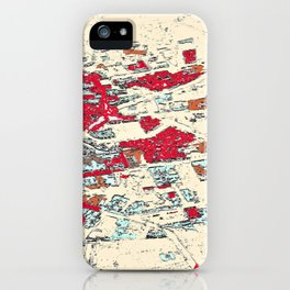 ​36.036552, 14.309492, 2017​ iPhone Case