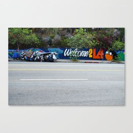 Welcome 2 LA by David Hohmann, Westwood Prints.   Canvas Print