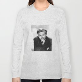 Vintage Mickey Rooney - Circa 1940's Long Sleeve T-shirt