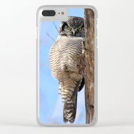 If looks could kill Clear iPhone Case