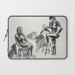 Nude Pair, Confrontation Laptop Sleeve
