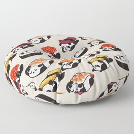 Sushi Panda Floor Pillow