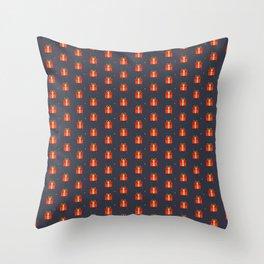 cadeau rouge Throw Pillow
