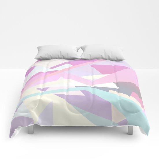 Pastel Pop Comforters