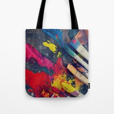 Paintbrushes  Tote Bag
