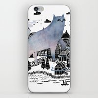 fog iPhone & iPod Skins featuring The Fog by littleclyde