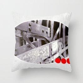 gears inside Throw Pillow