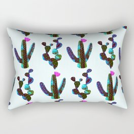 cacti watercolor Rectangular Pillow