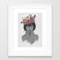 medicine Framed Art Prints featuring Medicine by Rocksu
