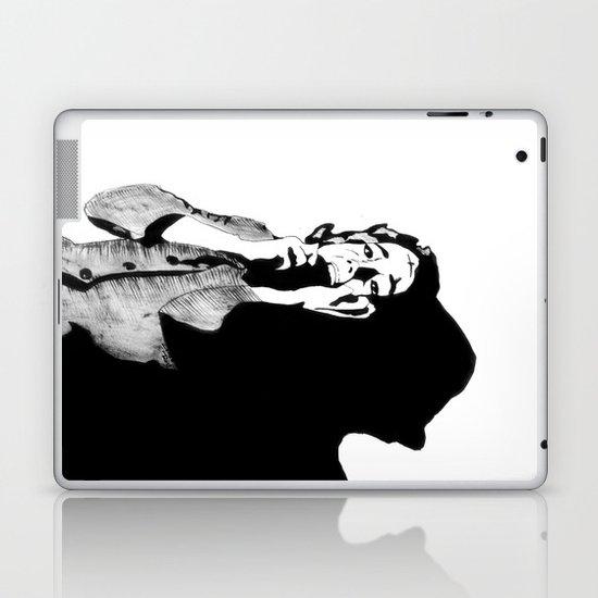 Lila Crane Laptop & iPad Skin