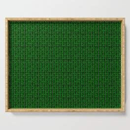 Binary Green Serving Tray