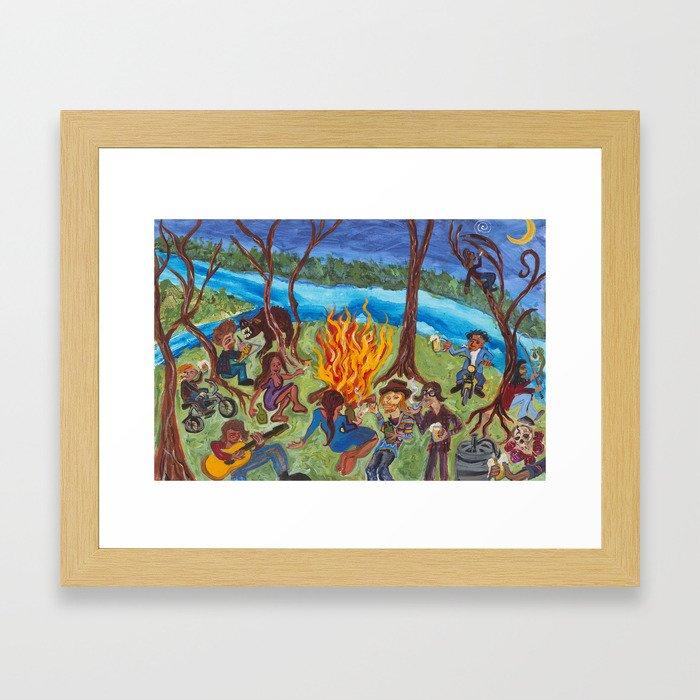 KEGGA Framed Art Print