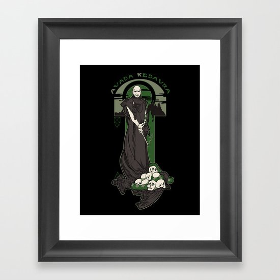 Rise of the Purebloods v2 Framed Art Print
