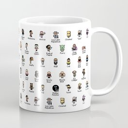 Butch McLogic's 8-Bit Guide to Gay Labels Coffee Mug