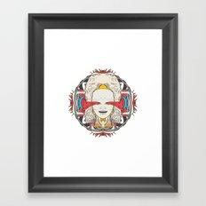 子 .1 Framed Art Print