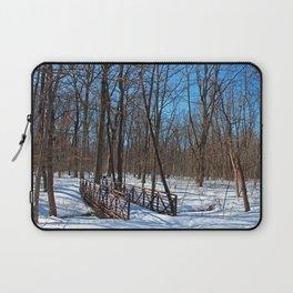 Winter Fatigue Laptop Sleeve