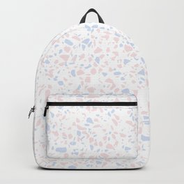 'Speckle Party' Lilac + Pink Dots Speckle Terrazzo Pattern Backpack