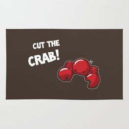 Cut the crab! Rug